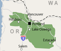 Our Oregon Service Area